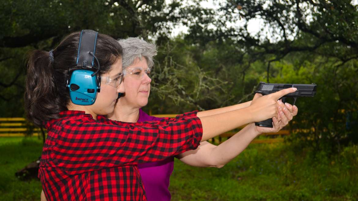 Women's Introduction to Handgun